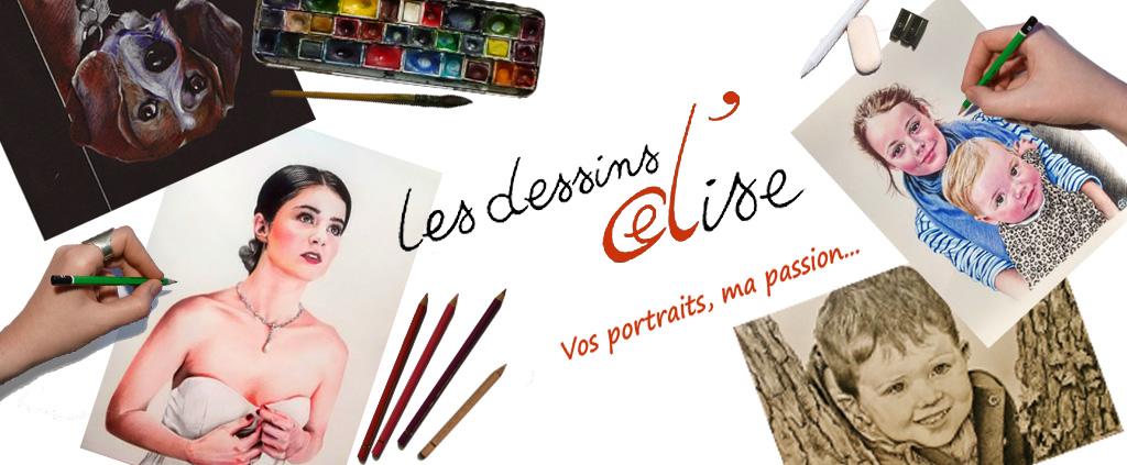 Les dessinsd'Elise | Artiste portraitiste