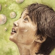 portrait-dessin-Vietnam-petit-garçon-aux-bulles