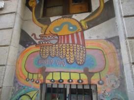 Графити в Бари Готик