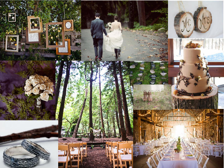 1000+ Images About Rustic Woodsy Wedding Theme Ideas On