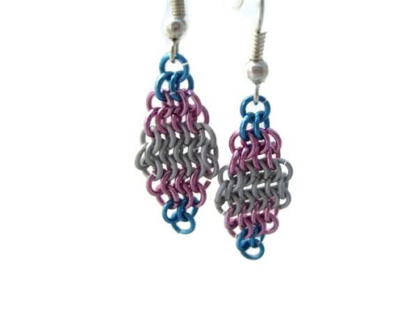 Trans Pride Earrings by Destai