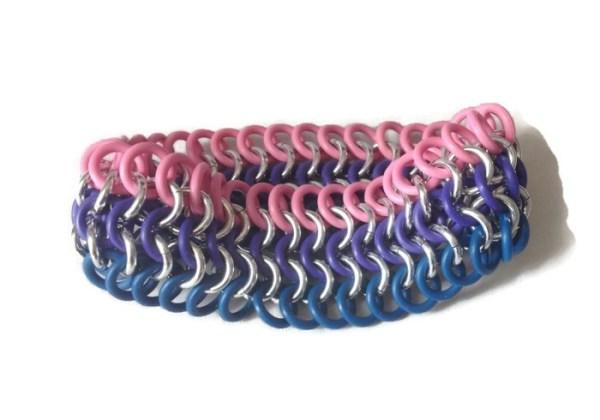 Bisexual Pride Bracelet by Destai