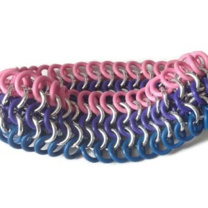 Bisexual Pride Bracelet by Destai