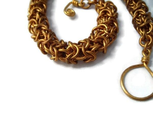 Turkish Round Chainmaille Bracelet by Destai