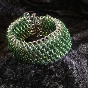 Dragonscale Bracelet Cuff by Destai