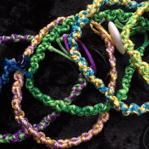 Macramé Bracelets by Destai