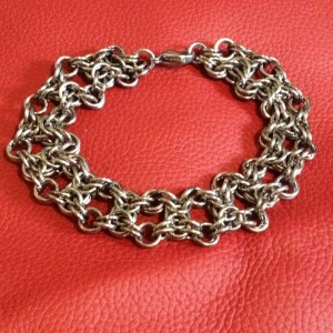 Olivia Chainmaille Bracelet by Destai