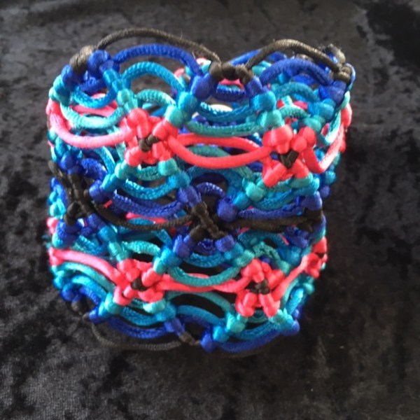 Macramé Cuff by Destai