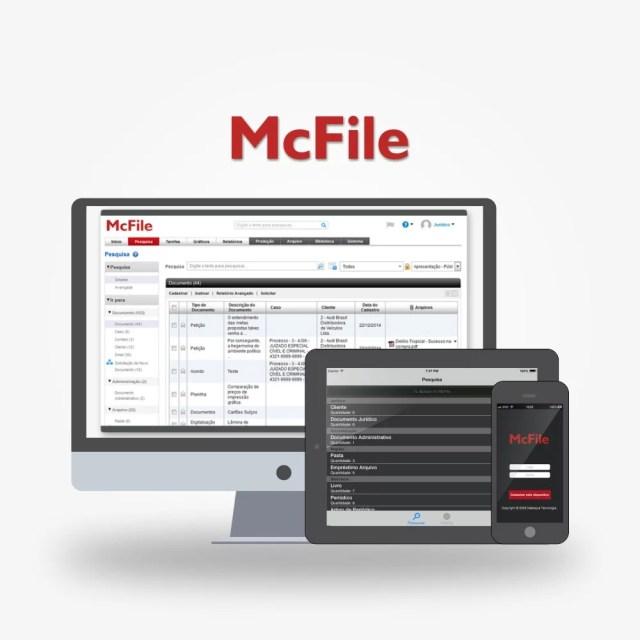GED - Gestão Eletrônica de Documentos - McFile - Destaque Gestão Documental