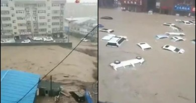 Vídeo: Maior tempestade em mil anos deixa pelo menos 25 mortos na China