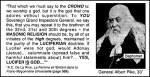 Nel 1889, Albert Pike proclama che la religione massonica si basa sul culto a Lucifero