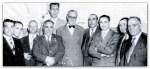 Umberto Gorietti e altri esponenti delle Assemblee di Dio in bella posa con i massoni: la prova visiva della collusione delle ADI con la Massoneria
