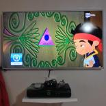 Il satanico occhio onniveggente nel cartone Jake e i pirati dell'isola che non c'è
