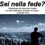Sei nella fede?