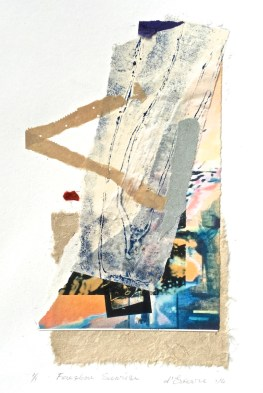 Foreshore Sunrise, 2014, collage, 40x30 cm