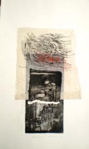 Karijini, 2014, intaglio and frottage
