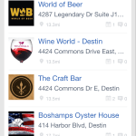 Destin Beer Festival Locations