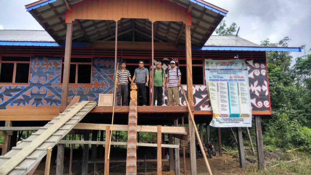 Rumah Adat Kalimantan Tengah - Betang Muara Mea