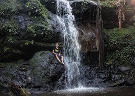 Wisata Air terjun di Kalimantan Tengah - Air Terjun Sungai Saluhan