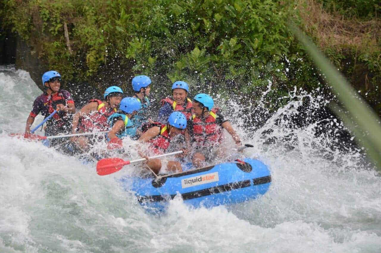 Wisata Arung Jeram Sumatera Selatan : Arung Jeram Sungai Selabung
