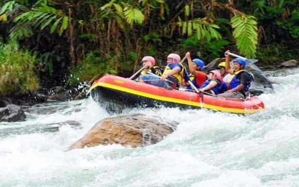 Destinasi Wisata Kabupaten MURATARA :Arung Jeram Muratara