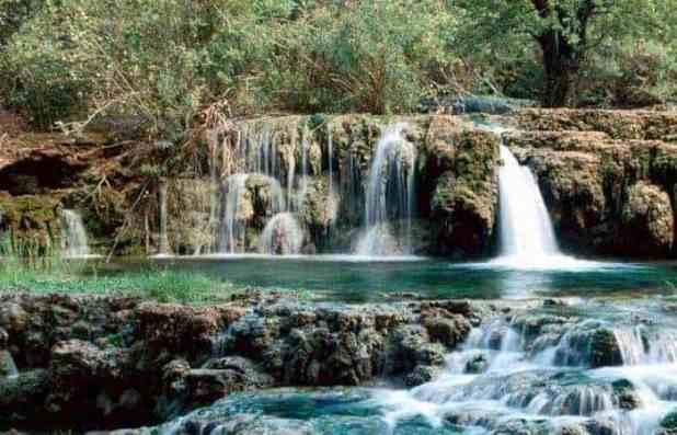 Destinasi Wisata Kabupaten MURATARA : Air Terjun Curup Sembilan