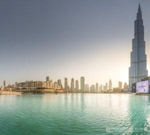Soukh al Bahar, Burj Khalifa und Lake
