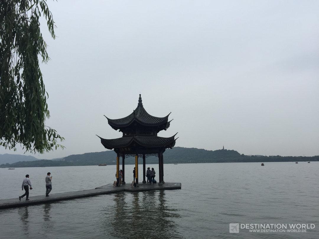 Jixianting Pavillon am Westsee
