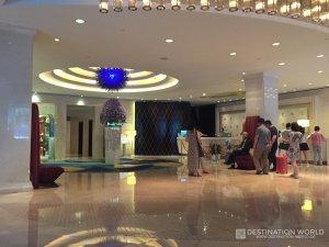 Lobby von Hua Chen International Hotel in Hangzhou