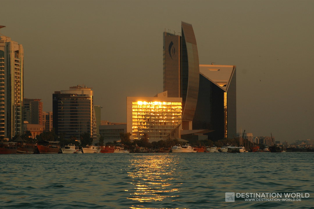 Abendstimmung am Dubai Creek
