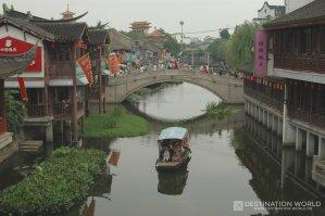 Die Kanäle von Qibao