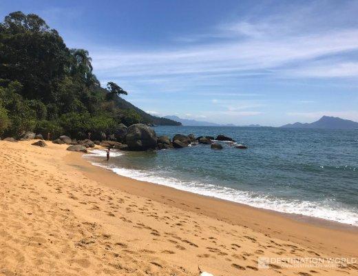 Traumstrand von Palmas auf der Ilha Grande