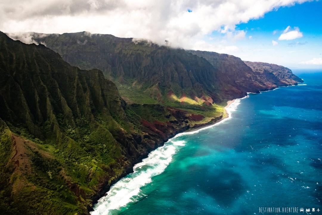 blog voyage du québec québécois destination aventure sac à dos randonnée camping à hawaii dans le waimea canyon trail et kalalau sur la na pali