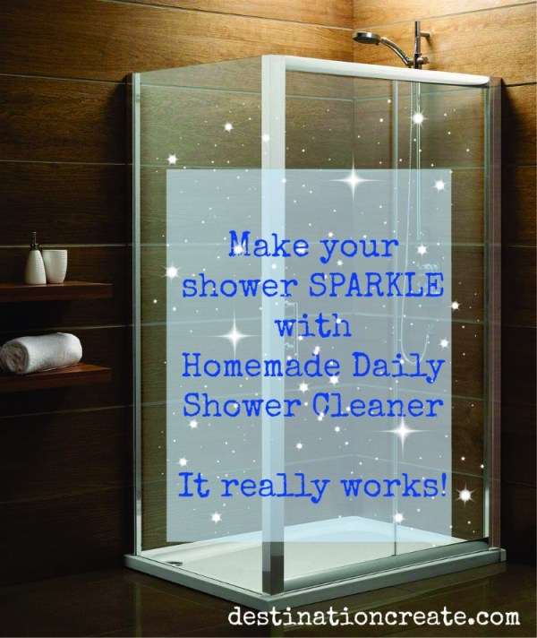 Cleaning Guide How To Clean Your Glass Shower Doors Properly: Homemade Shower Cleaner