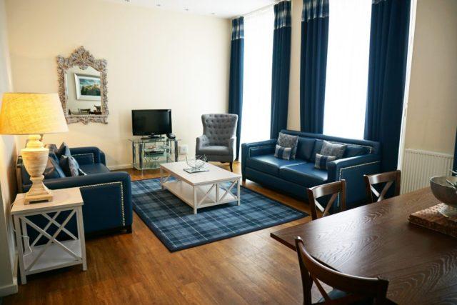 Princes Street Suites - stue
