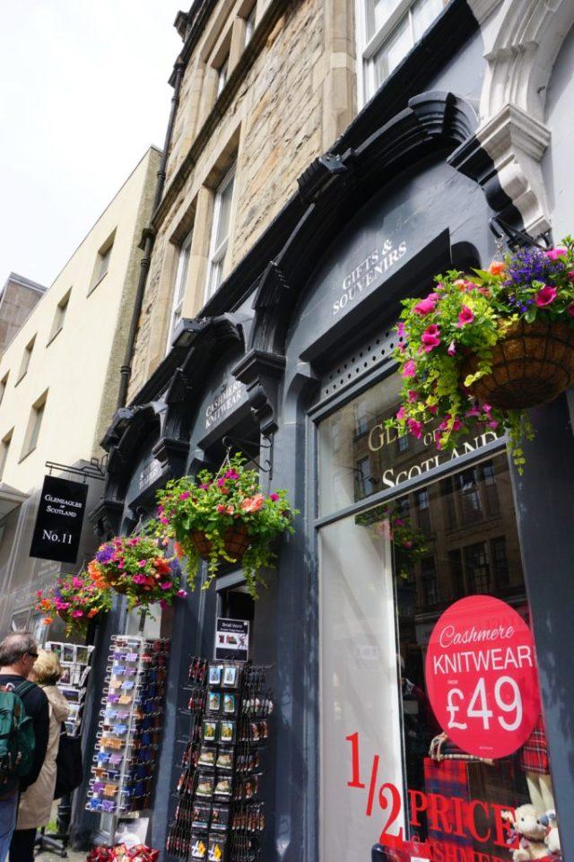 The Royal Mile i Edinburgh