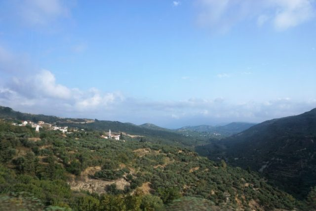 Udsigt Kreta