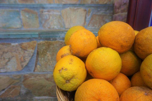 Friske appelsiner Kreta