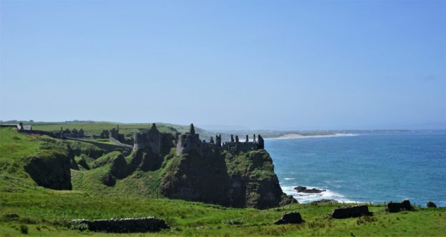 Dunluce Castle ruins Northern Ireland