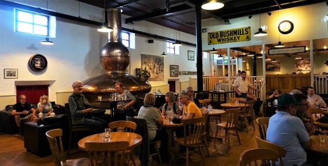 Old Bushmills Whiskydestilleri Nordirland