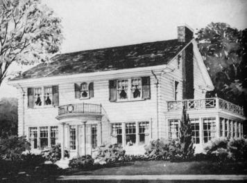 Къща на улица 119 West Cross