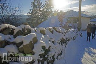Село Бучуковци - дувар