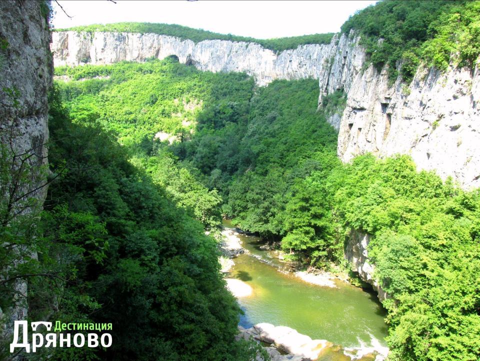 Река Дряновска - каньон 1