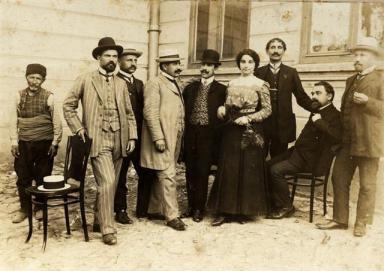 1920-1921 г. Прогимназиални учители.