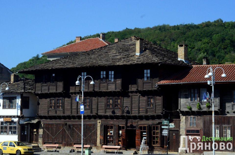 Лафчиева къща, заглавна - лого