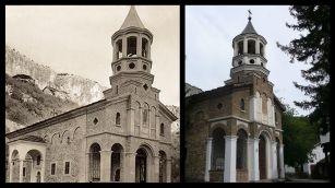 Храмът в Дряновския манастир