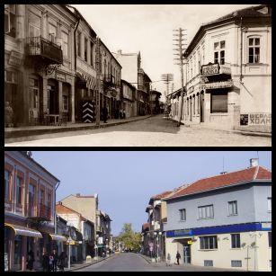 По главната улица в Дряново