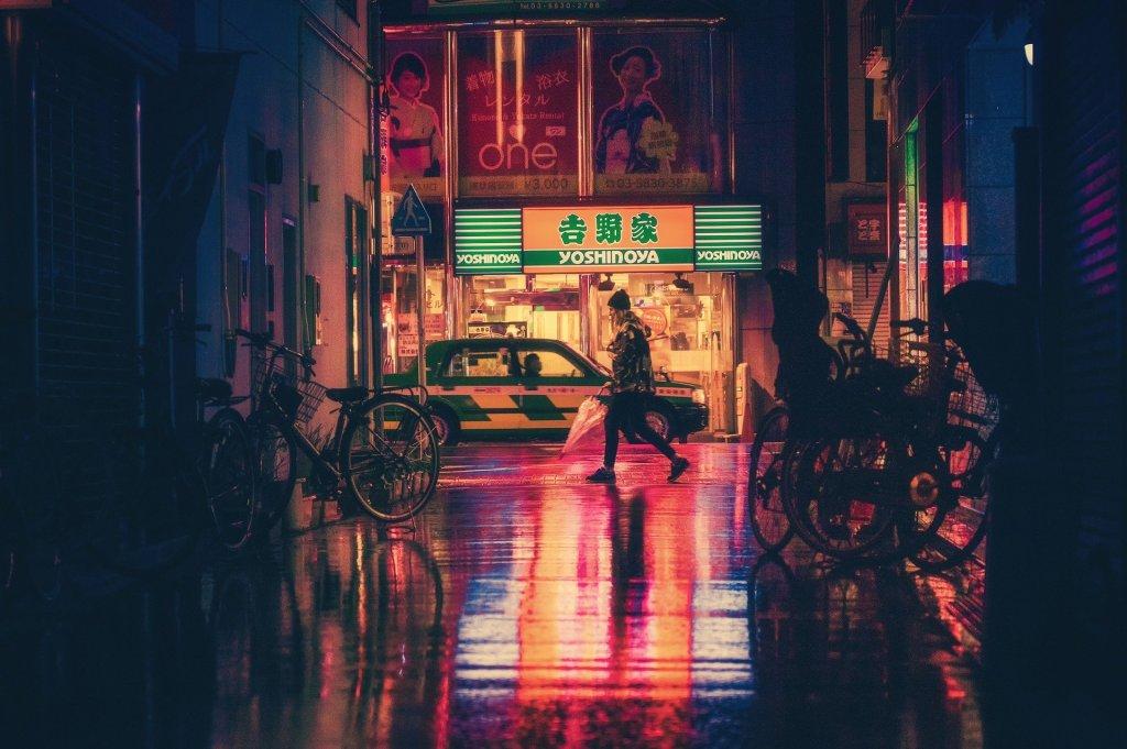 voyager au japon en 2021, restaurant yoshinoya à tokyo japon