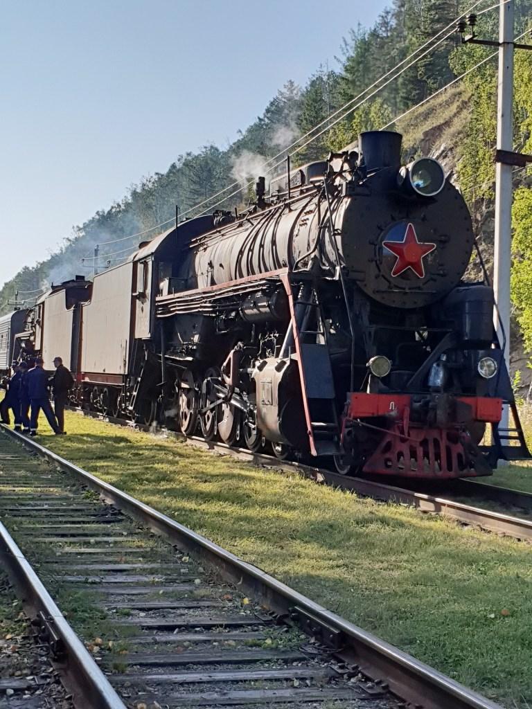 train Trans sibérien