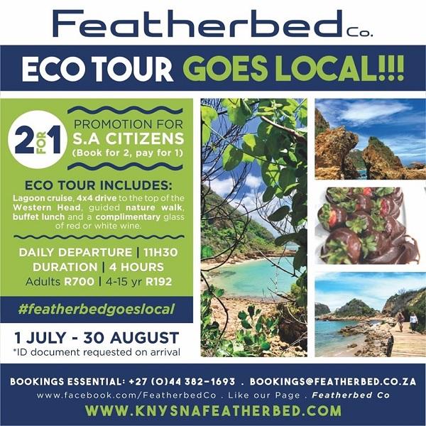 Destination Garden Route - Featherbed Eco Tour special Knysna